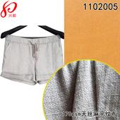 天丝麻混纺平纹布